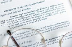 The First Amendment allows people to express themselves without fear of governmental repercussion.