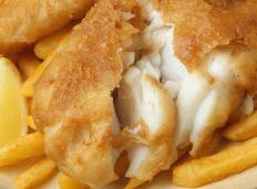 Deep-fried fish can be part of fish and chips.