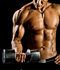The focus of bodybuilding is not necessarily strengthening muscles, but improving their appearance.