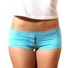 Hot pants are shorts made as short as possible.