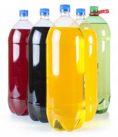 Sugary drinks like soda can contribute to body toxins.