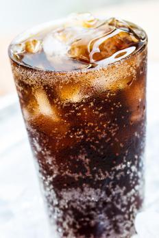 Sodas typically contain caffeine.