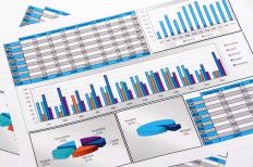 Preparing financial reports is part of a financial operations manager's duties.