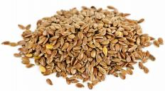 Flax seeds are rich in fatty acids.