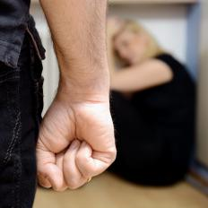 Victims of domestic violence can receive crisis intervention services.