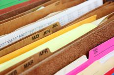 A records custodian should be familiar with a filing system.