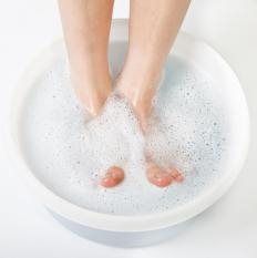 It's best to use a foot soak before removing calluses on the feet.