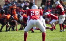 Football players are susceptible to metatarsal fractures.