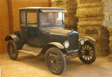 Older T-bucket cars may have been built off actual Ford Model T frames and bodies.