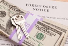Cash for a foreclosure scam.