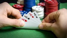 "The origins of the phrase ""ace in the hole"" come from poker."