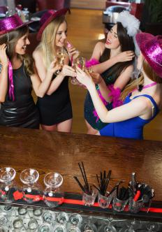 The maid of honor is responsible for planning the bachelorette party.