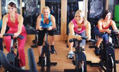 Consistency is important during indoor cycling training.