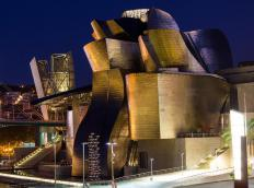 Frank Gehry was known for his imaginative, abstract architectural style.