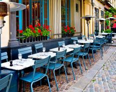 A bistro might offer Internet access to its customers.
