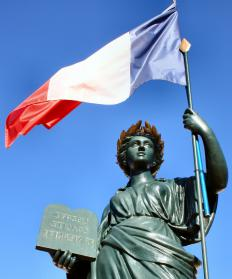 The concept for a French female symbol may have originated during the French Revolution.