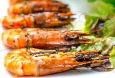 Shrimp that is frozen raw must be properly thawed before it's cooked.