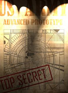 Military secrets are considered classified information.