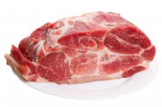 Using proper methods to defrost meat is important for food safety.