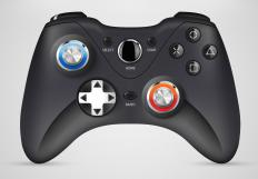 Video game bundles may include specially designed gaming controllers.