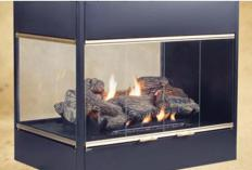One issue to consider when selecting a gas fireplace is the amount of heat it needs to produce.