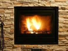 A fireplace can be a focal point of a room.