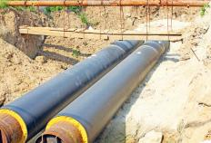 Depending on the exact function of the pipe flow line, various safety regulations may apply to the construction and ongoing operation of the system.