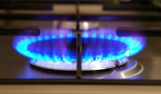 Pilot valves often control the flow of gas to appliances like kitchen stoves.