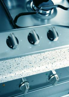 Boil overs can be difficult to clean, especially on natural gas ranges.