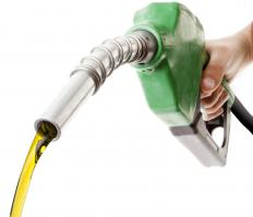 Unlike crude oil, gasoline is relatively clear and free flowing.