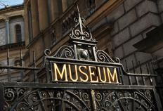 Museums often need education officers to help inform the public.