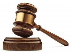Tort litigation involves cases of civil lawsuits.