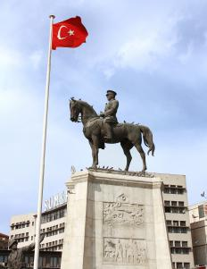 Gazi Mustafa Kemal Atatürk abolished the caliphate in 1924.
