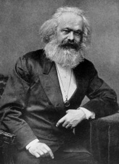 Karl Marx came up with the economic theory of surplus value.