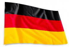The German flag.