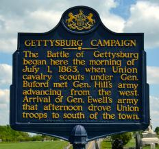 President Abraham Lincoln was admired for his speech at the Gettysburg battle site which lasted less than two minutes.