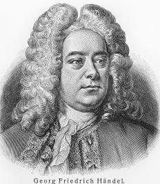 Some of Handel's work, folk dance pieces called gigues, featured viola solos.
