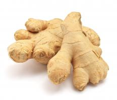 Ginger is often an ingredient in grunt.