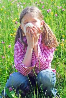The body produces antibodies to fight hay fever symptoms.