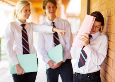 Psychological bullying may occur at school.