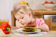 Children who are picky eaters will most likely grow out of it.