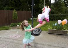 Kids might enjoy trying to break open a pinata.