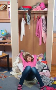 Messy rooms are often described as rat's nests.
