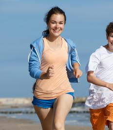 Physical fitness can help a teenage girl see her body as a tool for enjoying life rather than merely something to look at.