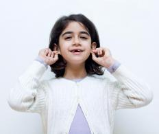 Hearing is an important factor for students with an auditory learning style.