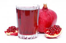 Pomegranate juice can help reduce parasites.