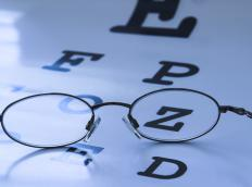 In cases of visual agnosia, there is no structural or neurological damage to the eyes.