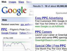 Google's AdSense is one of the most well-known examples of pay-per-click advertising.