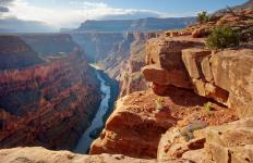 The Grand Canyon in Arizona has numerous hiking trails.