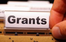 Skilled volunteers at nonprofit groups often help write grant proposals.
